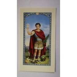 carte de priere Saint Expedit