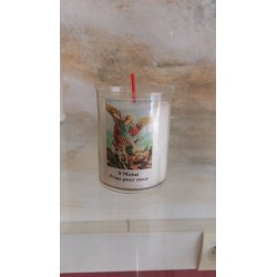 Bougies votives   Saint Michel