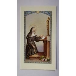carte de priere Marie qui defait les noeuds