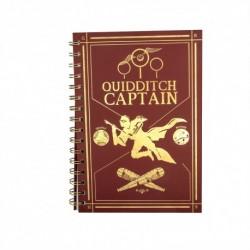 Carnet de Note Captain Quidditch